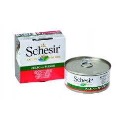 SCHESIR pour CHIEN , POULET & BOEUF  (150 g)