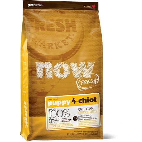 NOW FRESH - CHIOT - SANS CEREALES