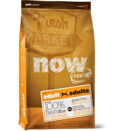 NOW FRESH - ADULTE - SANS CEREALES