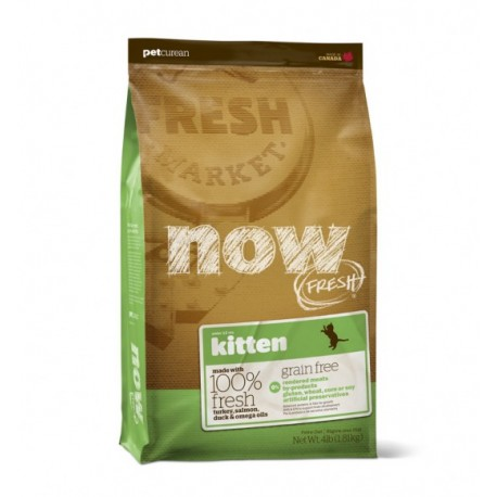 NOW FRESH - CHATON- SANS CEREALES