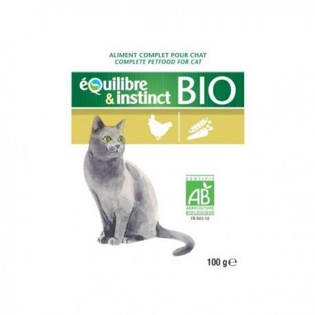 EQUILIBRE & INSTINCT - MITONNÉ BIO - LOT de 22 sachets fraîcheur de 100 g