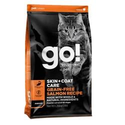GO Cat SAUMON  1,4kg Chat d'intérieur Pelage et Peau