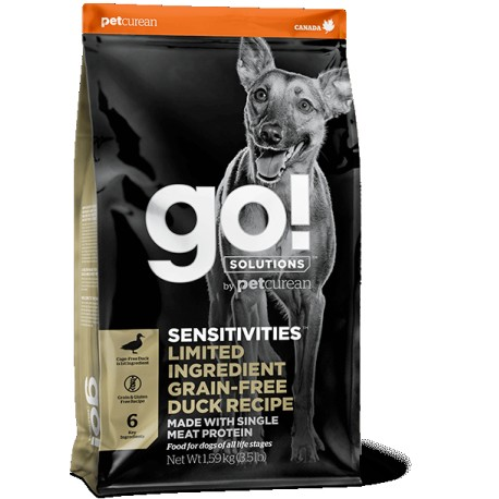 GO NATURAL CHIEN SENSIBLES -CANARD, 1,6kg