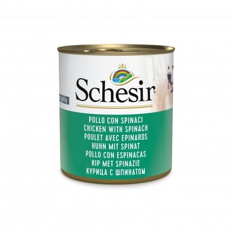 SCHESIR POULET & EPINARDS  (285 g)