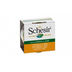 SCHESIR pour CHIEN, POULET & ALOE  (150 g)